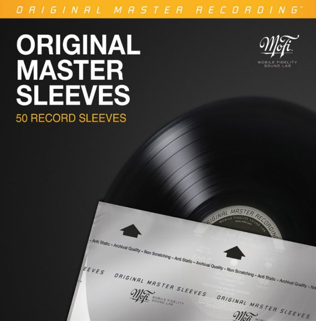 MFSL Original Master Sleeves / 50 Stk.