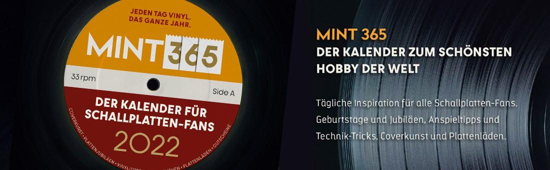 MINT 365 – Der Vinyl-Kalender für 2022