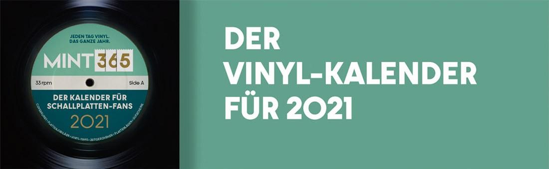 MINT 365 – Der Vinyl-Kalender für 2021